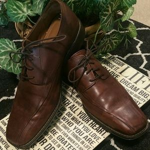 "Men's ""Johnston & Murphy"" Derby shoes."
